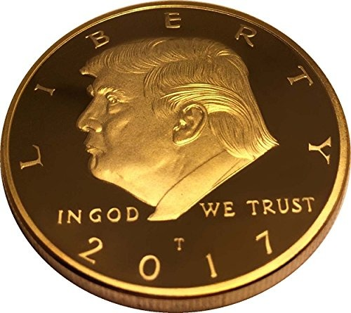 Gold Trump Coin