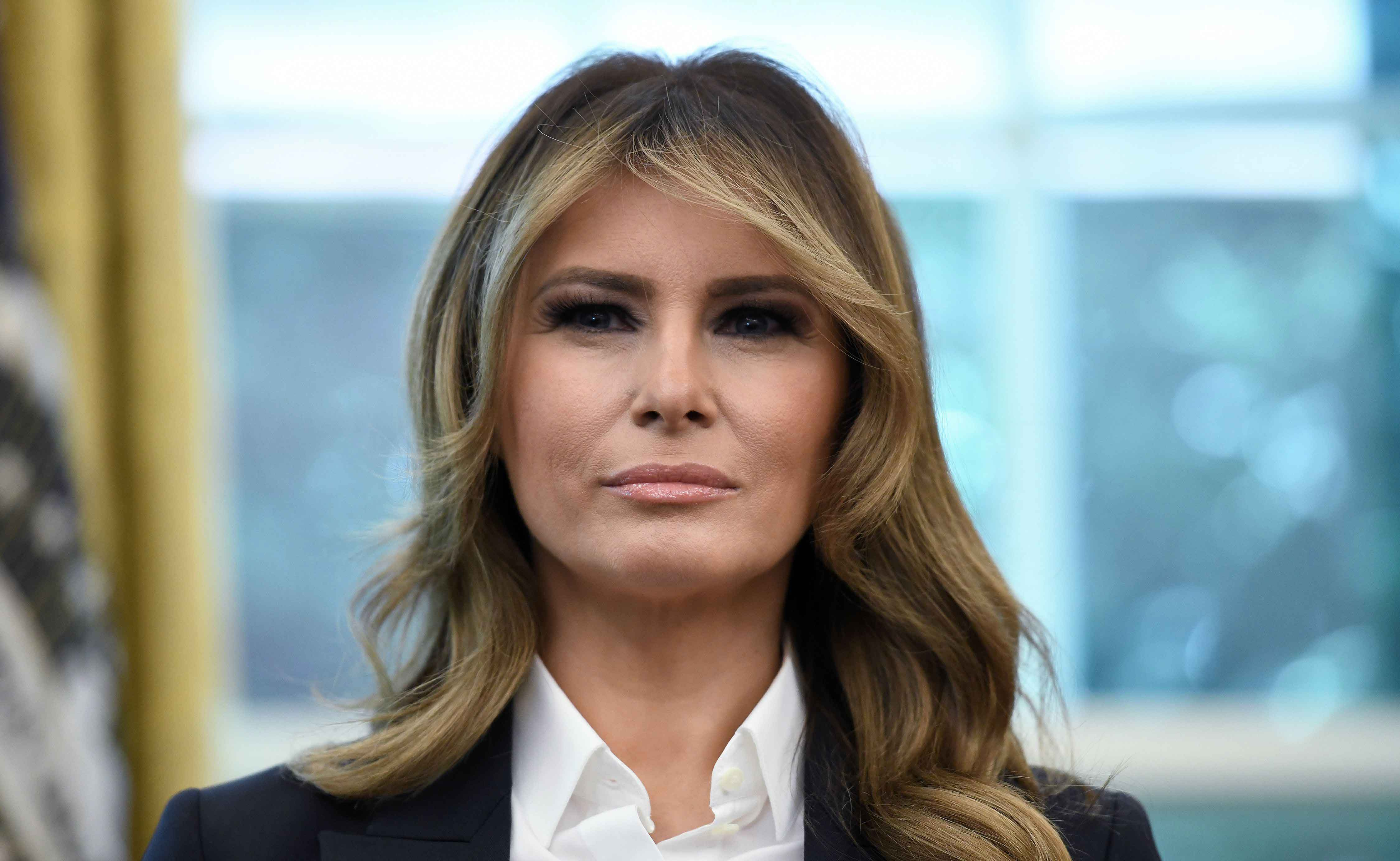 Melania Knauss - the current first lady of the United States